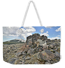 Big Horn Pass In Wyoming Weekender Tote Bag