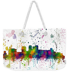 Birmingham Alabama Skyline Weekender Tote Bag by Marlene Watson