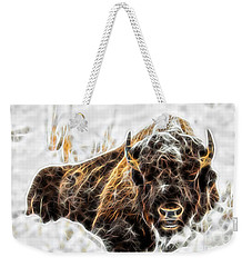 Bison Collection Weekender Tote Bag