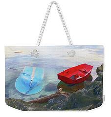 2 Boats  Weekender Tote Bag