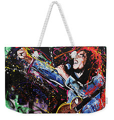 Bob Marley Weekender Tote Bag by Richard Day