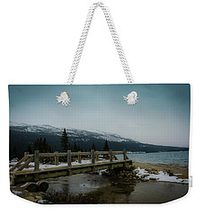 Weekender Tote Bag featuring the photograph Bridge by Bill Howard