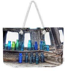 Bromo Seltzer Vintage Glass Bottles  Weekender Tote Bag