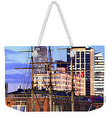 Weekender Tote Bag featuring the photograph Buenos Aires 001 by Bernardo Galmarini