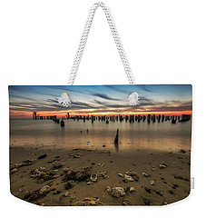 Weekender Tote Bag featuring the photograph Cape Charles by Kevin Blackburn