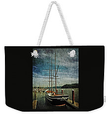 Cape Foulweather Tall Ship Weekender Tote Bag by Thom Zehrfeld