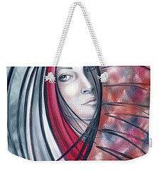 Catch Me If You Can 080908 Weekender Tote Bag by Selena Boron