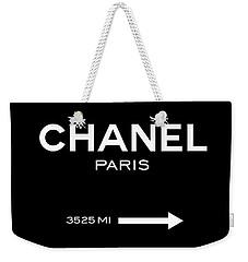 Chanel Paris Weekender Tote Bag