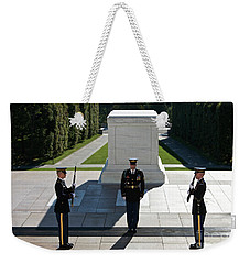 Changing Of Guard At Arlington National Weekender Tote Bag
