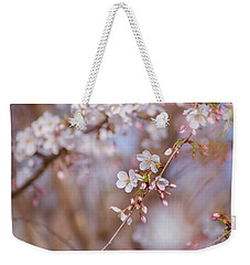 Cherry Blossom  Weekender Tote Bag by Rima Biswas