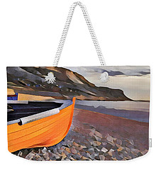 Chesil Beach Weekender Tote Bag