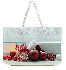 Christmas Windowsill Weekender Tote Bag