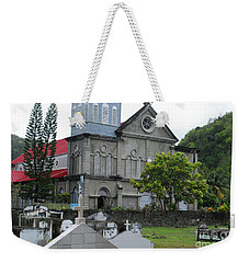 Weekender Tote Bag featuring the photograph Church by Gary Wonning
