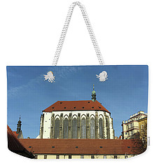 Weekender Tote Bag featuring the photograph Church Of The Virgin Mary Of The Snow by Michal Boubin