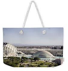 Ciudad De Las Artes Y Ciencias Valencia Weekender Tote Bag