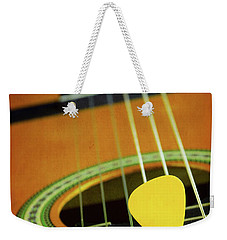Weekender Tote Bag featuring the photograph Classic Guitar  by Carlos Caetano