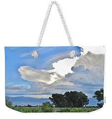 Clouds Weekender Tote Bag by Marilyn Diaz