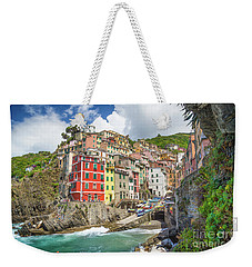 Colors Of Cinque Terre Weekender Tote Bag by JR Photography