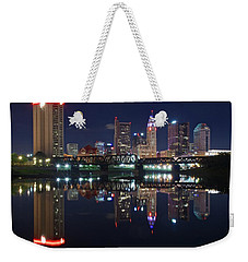 Columbus Ohio Weekender Tote Bag by Frozen in Time Fine Art Photography