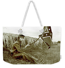 Confederate Soldier Weekender Tote Bag
