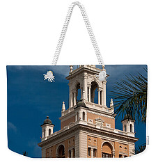 Coral Gables Biltmore Hotel Tower Weekender Tote Bag