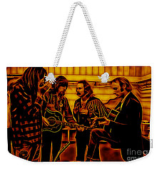 Crosby Stills Nash And Young Weekender Tote Bag