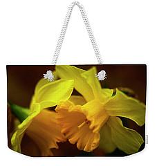 2 Daffodils Weekender Tote Bag