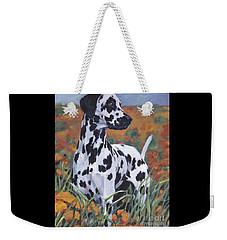 Dalmatian Weekender Tote Bag by Lee Ann Shepard