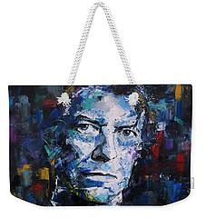 David Bowie Weekender Tote Bag by Richard Day