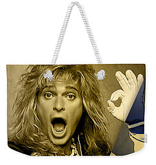 David Lee Roth Collection Weekender Tote Bag by Marvin Blaine