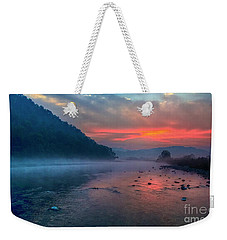 Dawn Weekender Tote Bag by Pravine Chester