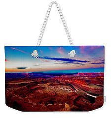 Weekender Tote Bag featuring the photograph Dead Horse Point by Norman Hall