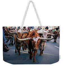 Denver National Western Stock Show Kick-of Parade 2018 Weekender Tote Bag
