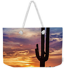 Weekender Tote Bag featuring the photograph Desert Beauty  by Saija Lehtonen