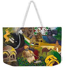 Discover India Weekender Tote Bag by Alika Kumar