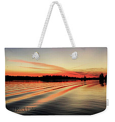 Doug Hobson, Red Rock Lake Weekender Tote Bag