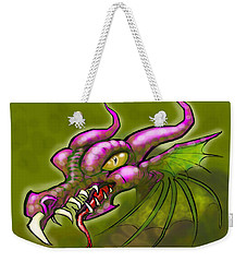 Dragon Weekender Tote Bag by Kevin Middleton