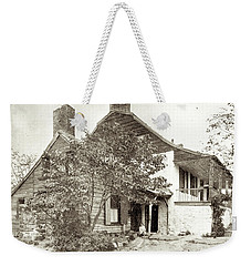Weekender Tote Bag featuring the photograph Dyckman House by Cole Thompson