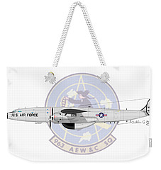 Ec-121t Constellation Weekender Tote Bag