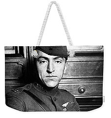 Weekender Tote Bag featuring the photograph Eddie Rickenbacker by War Is Hell Store