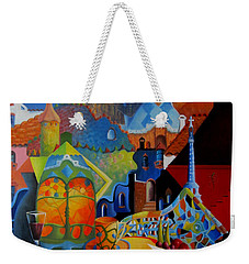 El Barcelona De Gaudi Weekender Tote Bag by Joe Gilronan