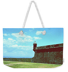 Weekender Tote Bag featuring the photograph El Morro by Gary Wonning
