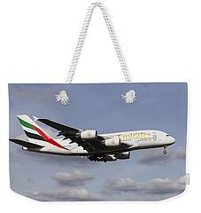Emirates A380 Airbus Weekender Tote Bag