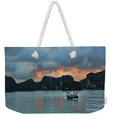 End Of Day Vietnam  Weekender Tote Bag