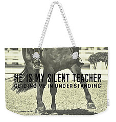 Extend The Trot Quote Weekender Tote Bag