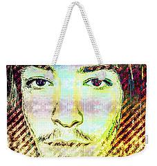 Ezra Miller Weekender Tote Bag by Svelby Art