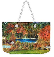 Fall In The Adirondacks Weekender Tote Bag