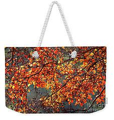 Fall Leaves Weekender Tote Bag by Nicholas Burningham
