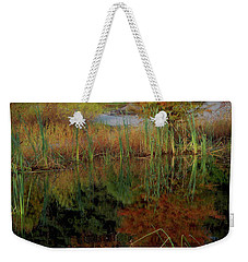 Fall Reflections Weekender Tote Bag by Skip Willits