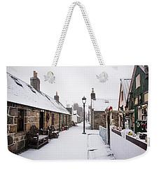 Fittie In The Snow Weekender Tote Bag